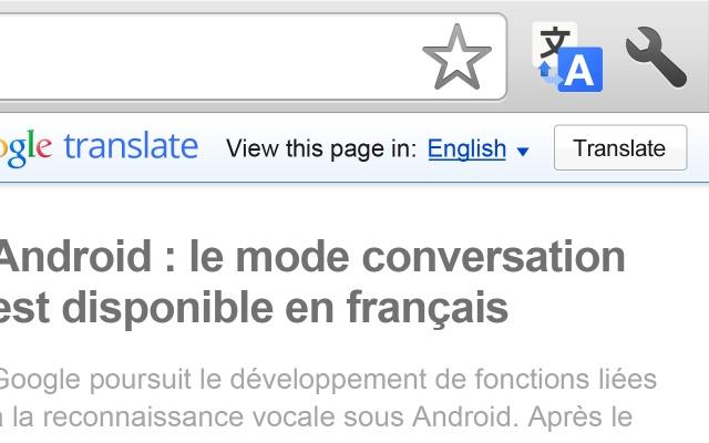 Chrome Web Store - Google Translate