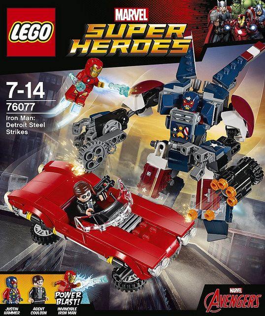 LEGO Marvel Super Heroes Iron Man Detroit Steel Strikes (76077) | by tormentalous