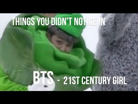 THINGS YOU DIDN'T NOTICE IN BTS 21세기 소녀  (21ST CENTURY GIRLS) DANCE PRACTICE HALLOWEEN VER. 방탄소년단 - YouTube