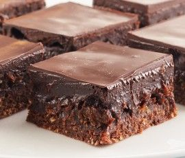 Rum & Raisin Slice: Yummy chocolate slice packed with juicy raisins and a dash of rum for excitement!. http://www.bakers-corner.com.au/recipes/slices/rum-raisin-slice/