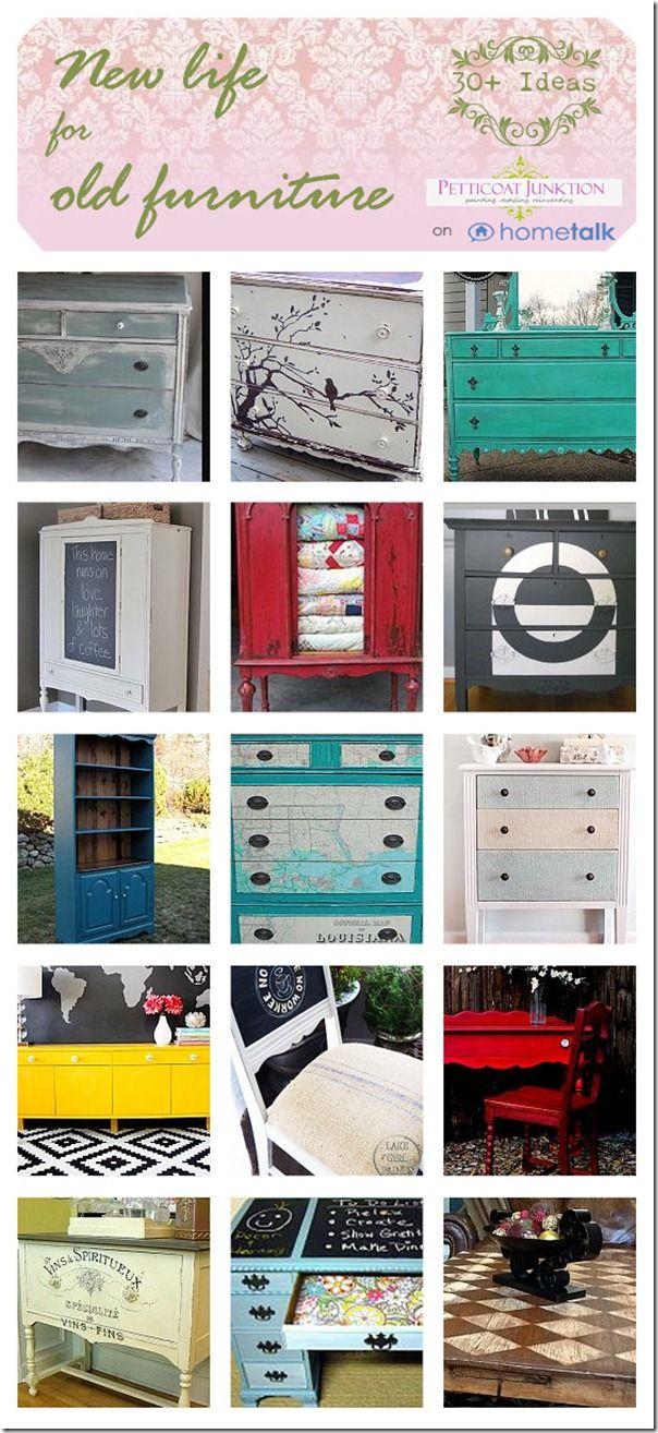 Restyled Furniture Ideas Clipboard on Hometalk, Petticoat Junktion