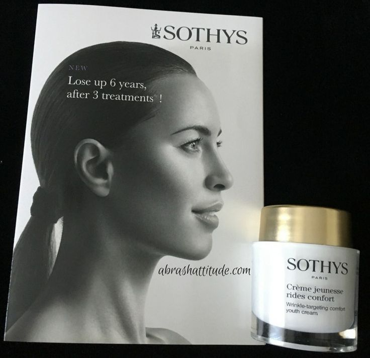 Hello, hello! Today I have a review of the Crème Jeunesse  (Youth Cream) from Sothys Paris. Their Canadian PR team had me fill out a skin questionnaire and sent me one of the Youth Creams (Crème Je…