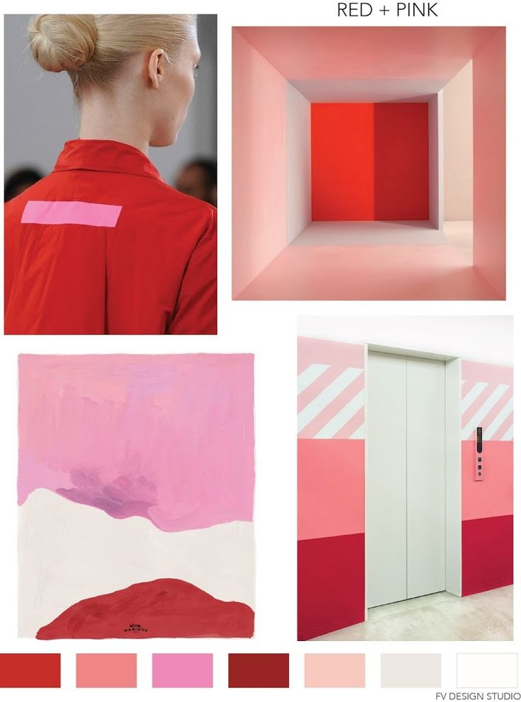 FASHION VIGNETTE: FV TREND x COLOR | RED + PINK