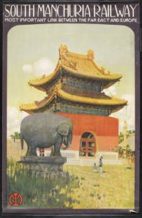 South Manchuria Railway: most important link between the far East and Europe [Temple] :: Rare Books and Manuscripts Collection
