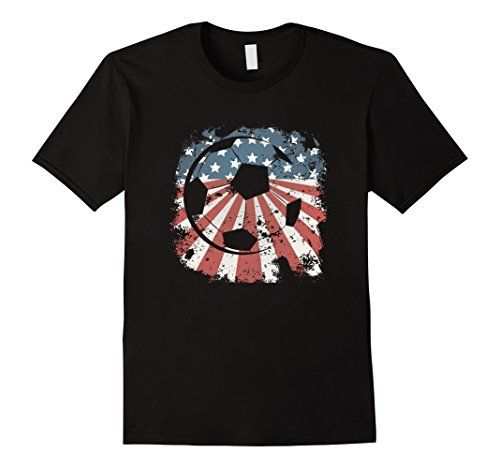 American Flag Soccer T-Shirt, only $19.99