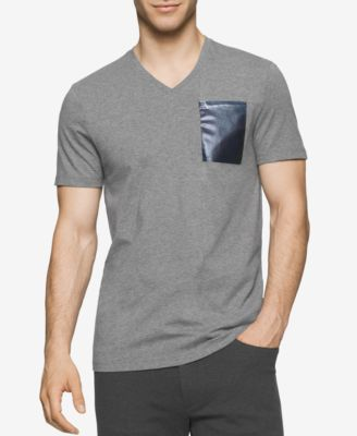 CALVIN KLEIN Calvin Klein Men's Pocket T-Shirt . #calvinklein #cloth #shirts