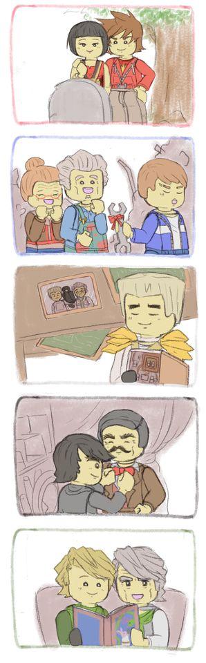 I'm SOOOOO glad that Kai and Nya's parents aren't dead!