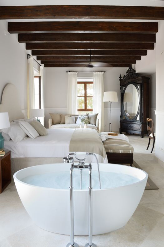 Luxury and romance for relaxing moments