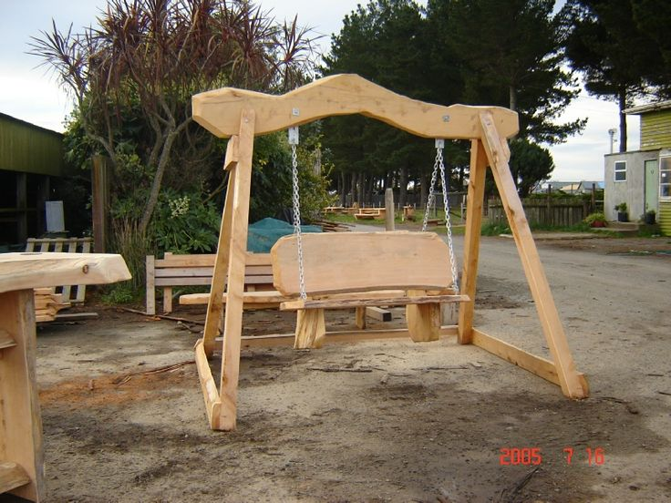 Swings aren't just for the kids. Adults and children can swing back and relax outdoors on the Fred Swing from Macs Macrocarpa. Buy Now: http://www.macsmacrocarpa.co.nz/page12.html