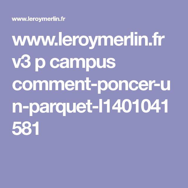 www.leroymerlin.fr v3 p campus comment-poncer-un-parquet-l1401041581