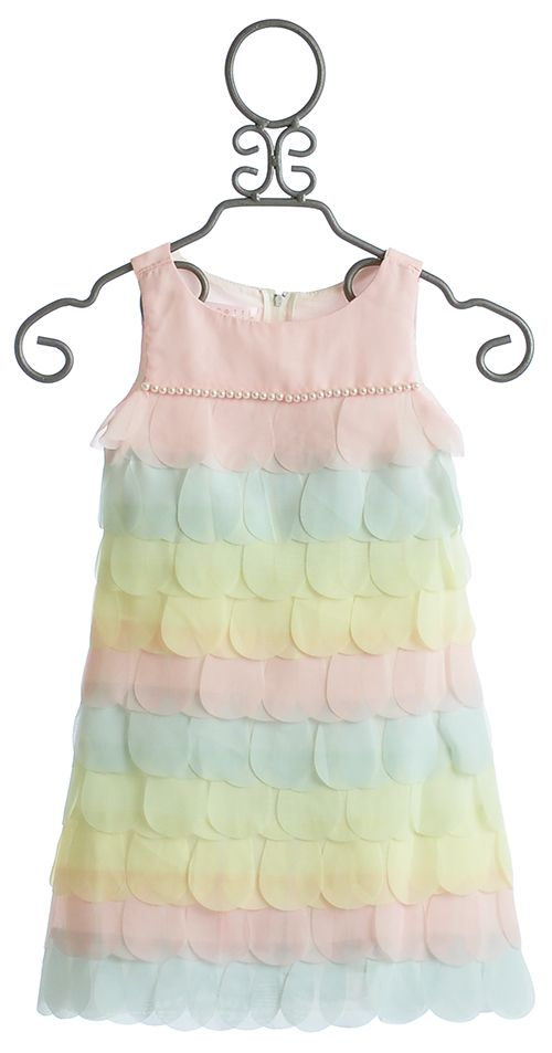 Biscotti Girls Easter Dress Pastel