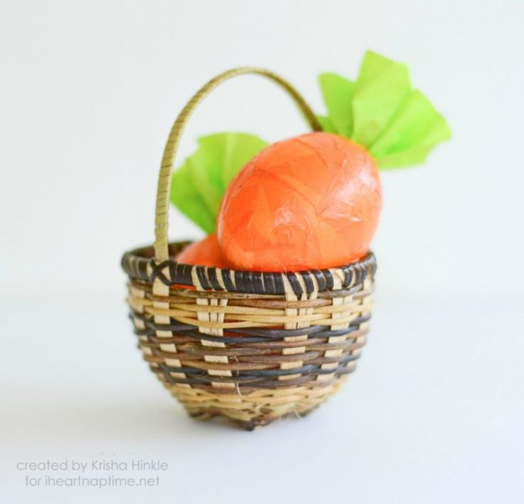Carrot Cascarones from 25 Easter Crafts for Kids ...fun-filled Easter activities for you and your child to do together!