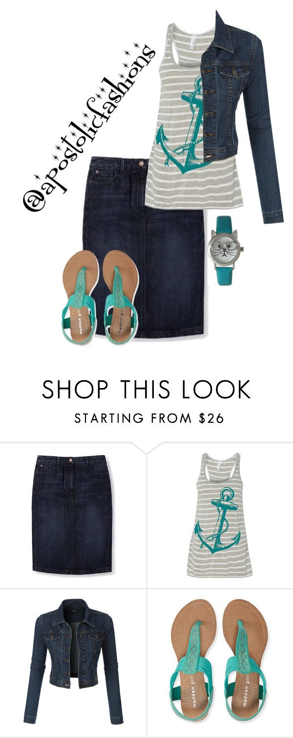 """""""Apostolic Fashions #1254"""" by apostolicfashions on Polyvore featuring Boden, LE3NO, Aéropostale and Olivia Pratt"""