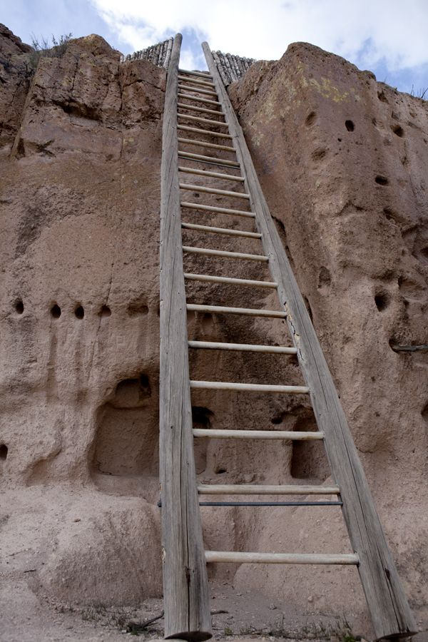 Puye cliff dwellings Bandelier National Monument