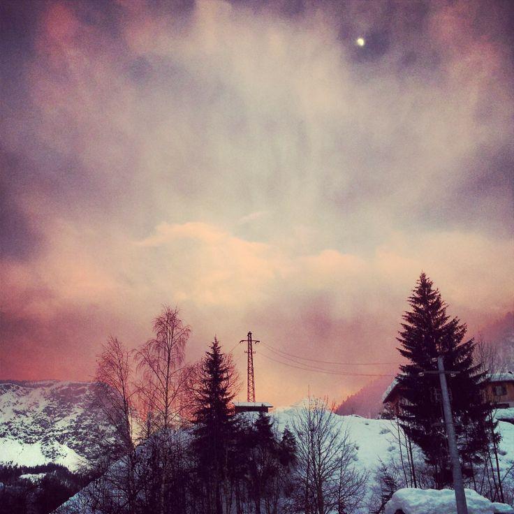 Sunset on #Dolomiti