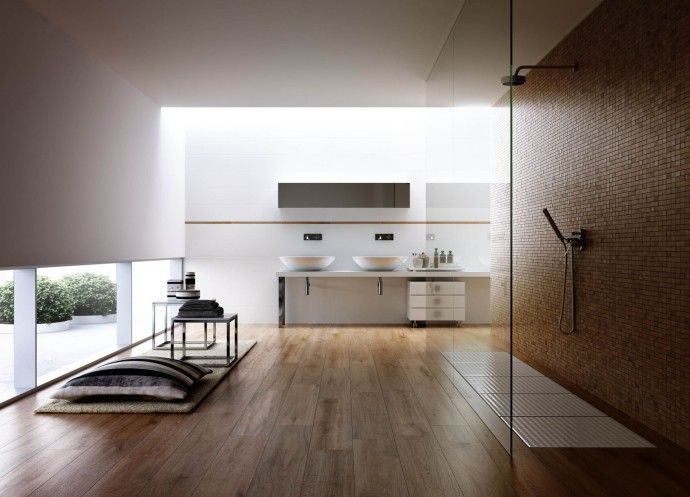 Salle de bain minimaliste design