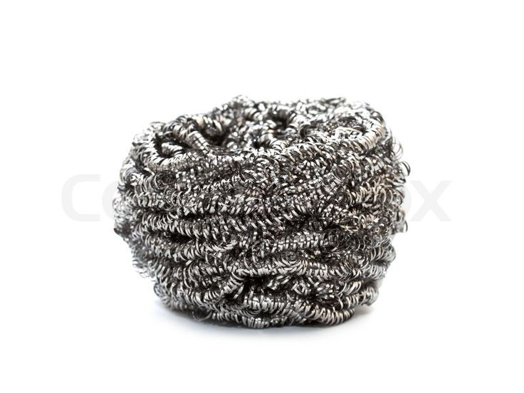 Metallic scourers are usually small pads of metal mesh that is especially used for scouring a surface. Sponge scouring pads are used for scouring dishes and other soft surfaces, but metallic scourers are especially used where these can do nothing.