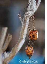 Dangly Animal Print Earrings | FaveCrafts.com