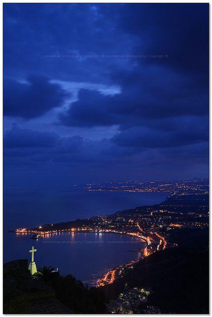 Taormina - Giardini Naxos' Bay, Sicily, Italy, province of Messina , region of Sicily