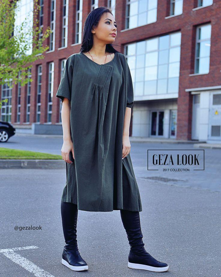 Очень удобное платье миди с рукавами до локтя, которое подойдет любой фигуре👍Модный воздушный покрой. Создай множество образов с этим потрясающим платьем😍 Ждем вас в гости за новинками😘  ----------------------------------------- 👉Для заказа👇 📲пишие в WatsApp +7 (963) 661-29-64 📩пишите в Директ ----------------------------------------- Приезжайте🚗 на примерку в шоурум или заказывайте доставку📦 на дом. ----------------------------------------- 🛍Адрес шоу-рума Geza Look🛍 📍Москва…