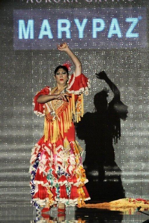 Manuela Carrasco en un momento mágico de #Simof. #Sevilla