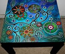 Funky Hand Painted Furniture   Bing Images