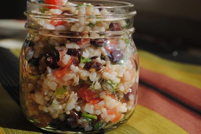 ... Fiesta Lime Rice: Brow rice, black beans, pico de gallo, lime