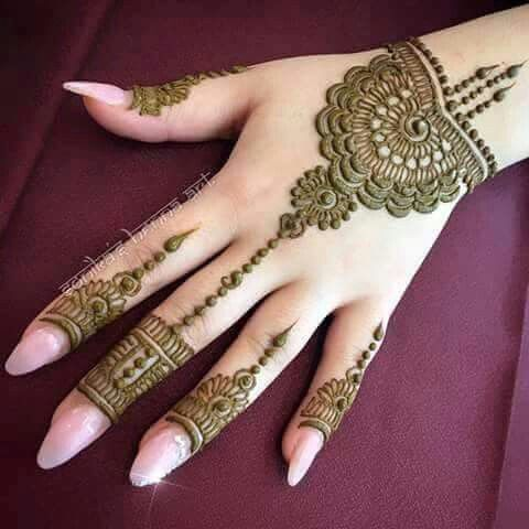Beautiful henna design