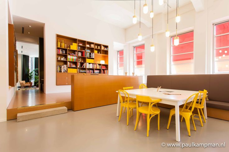 Open werkruimte Spaces Den Haag (Rode Olifant) © Paul Kampman Fotografie