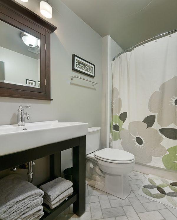 Bathroom Curtain Ideas For All Tastes And Styles. Small Bathroom  DesignsSmall ...