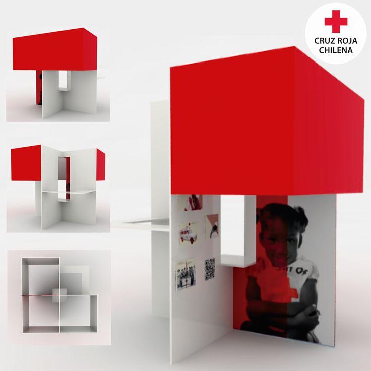 Proceso de Stand / Cruz Roja www.mariateresasoffia.cl