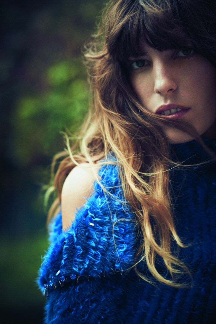 Lou Doillon for Vogue Turkey by Serge Leblon