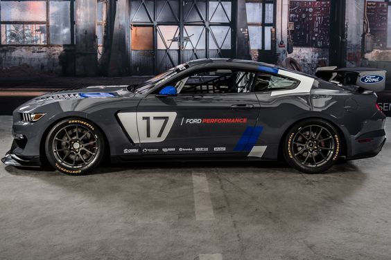 Ford Mustang GT4 Racer Revealed At SEMA The brand new Ford Mustang GT4 racer has been finally revealed at this year's SEMA show, along with a newly launched data-logging application. The new Mustang racer is based on the famous Shelby GT350R-C. It is powered by a 5.2-liter V8 engine, teamed up with a six-speed Holinger paddle-shift...
