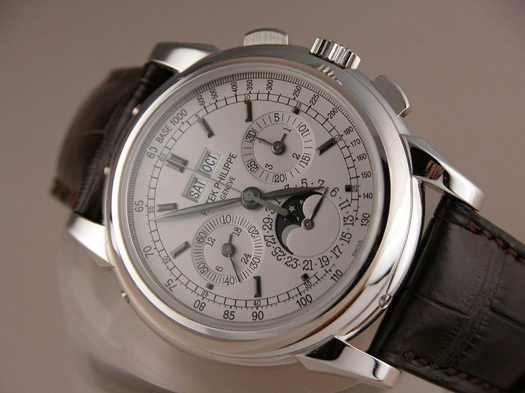 The Patek Phillipe 59760 mens watch.  Valued at $150,000.  Not sure if I can find a cheap knock off for this one.
