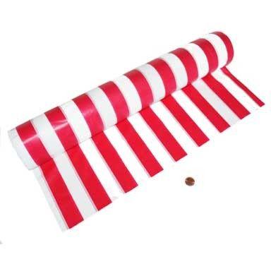 Carnival Savers - Carnival Themed Plastic Table Cloth Roll (100 ft long), $19.50 (http://www.carnivalsavers.com/catalog/item/1906441/9374669.htm)
