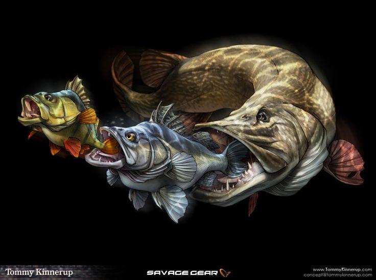 Fish Art on Behance