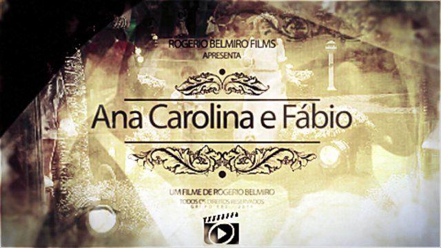 Video de agradecimento aos convidados do casamento de Ana Carolina e Fábio. Músicos: Cia Sinfônica Voz: Priscila Carvalho