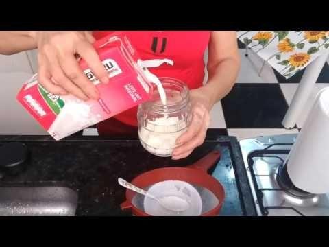 Como ativar seu kefir  novamente depois  dele ter sido congelado - YouTube