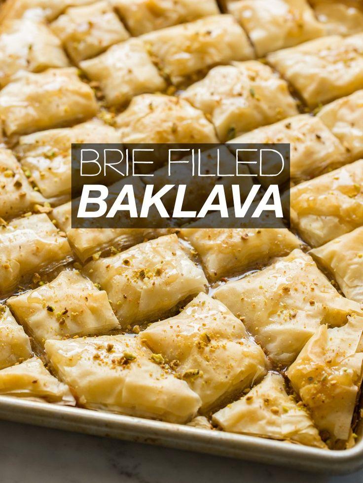 Brie Filled Baklava