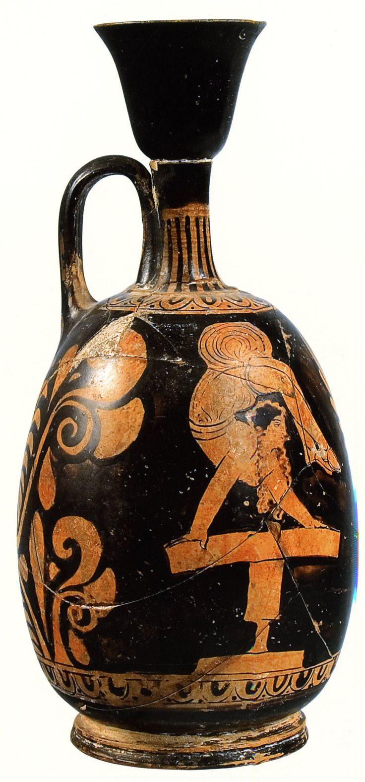 Acrobat Apulian Red Figure Lekythos Hermitage B 4234 Ht