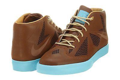 NIKE LEBRON X NSW LIFESTYLE MENS 582553-200 Hazelnut Brown Casual Shoes Size 8.5