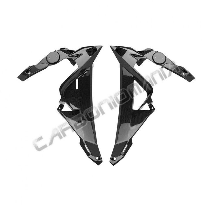 Fianchetti radiatore pannelli laterali  in fibra di carbonio BMW S 1000 R 2014 Performance Quality - cod. PQBM183