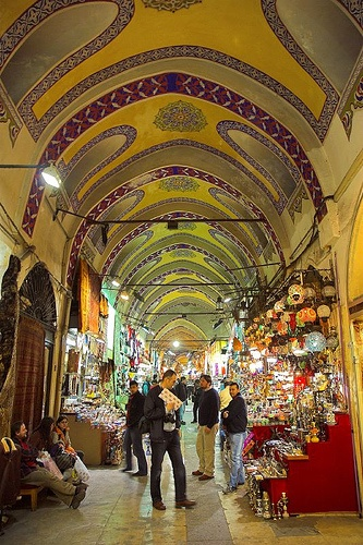 Want to go here - Istanbul, Turkey - I love visiting the markets in any country we travel too but this one has got to be AWESOME!