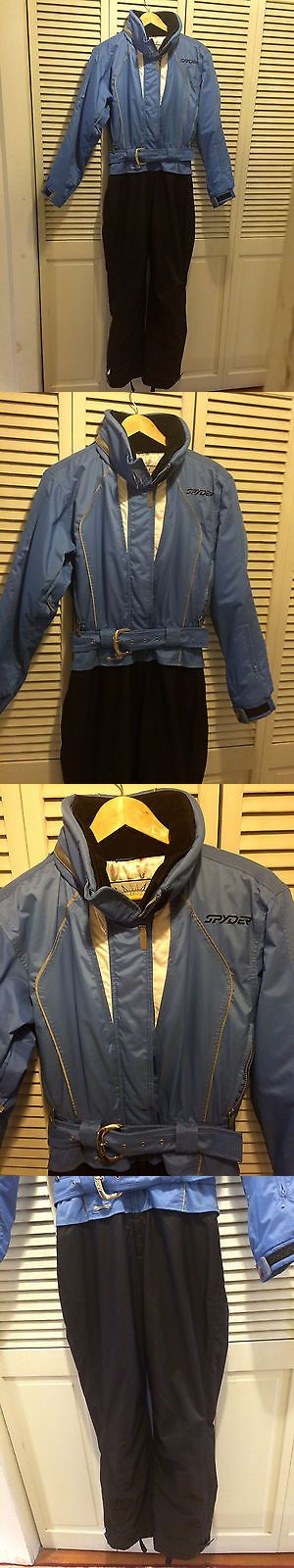 Snowsuits 62178: Spyder One Piece Snowboard Ski Suit Jacket Pants Outfit - Womens 8 -> BUY IT NOW ONLY: $49 on eBay!