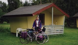 Typical Danish camping Cabin