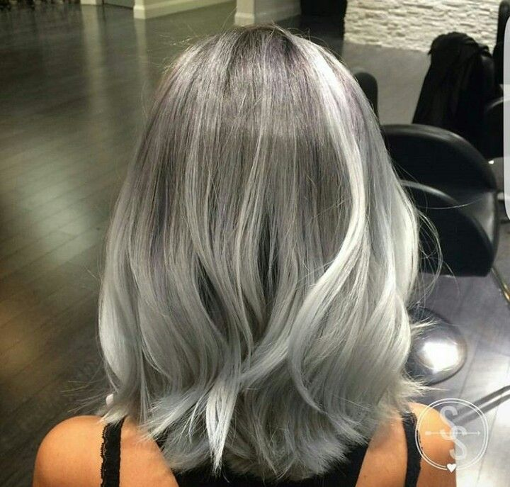 haircuts with color pin by derya kurtuluş on hairdresser gray 1812