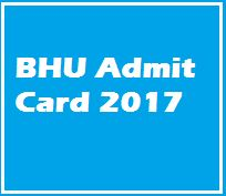 BHU Admit Cards to release soon  Banaras Hindu University has officially announced application forms for the conduction of entrance exam. Admit cards for the same will be released shortly on the official website....  http://motachasma.inube.com/blog/5737950/bhu-admit-cards-to-release-soon/