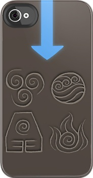 Avatar: The Last Airbender phone case... Have to get an iPhone so I can have this