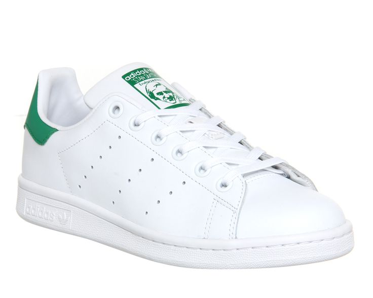 Buy Core White Green Adidas Stan Smith GS from OFFICE.co.uk. | january  wishlist | Pinterest | Stan smith, Adidas stan smith and Adidas stan