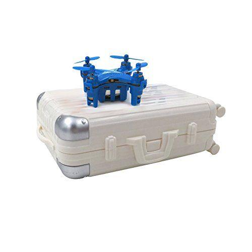 WayIn® E904 2.4Ghz 6-Axis Gyro Mini RC sin cabeza Drone Quadcopter con la maleta Embalaje(Azul) - http://www.midronepro.com/producto/wayin-e904-2-4ghz-6-axis-gyro-mini-rc-sin-cabeza-drone-quadcopter-con-la-maleta-embalajeazul/
